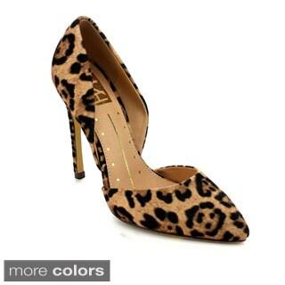 FAHRENHEIT YURI-01 Women's Stylish D'Orsay Stiletto Heel Pumps