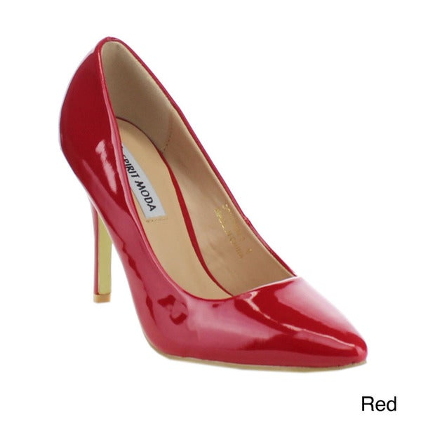 Spirit Moda Colleen-2 Women's Fashion Pointed Toe Slip On Stiletto Dress Pumps