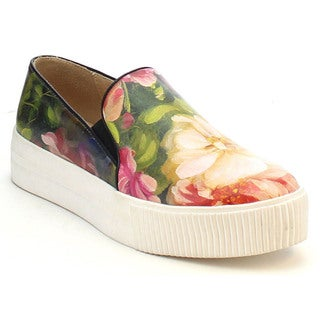 MI.IM KARRI-04 Women's Big Floral Print Comfort Sneaker Casual Shoes