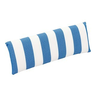 Nautical Back Blue and White Cushion Chair (Set of two)