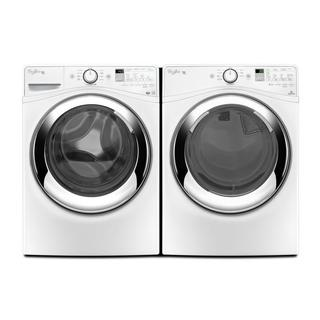 Whirlpool Duet Steam Front Load Washer and Electric Dryer Pair
