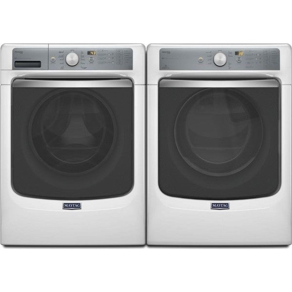 Maytag Maxima Series Front Load Washer and Electric Dryer Pair