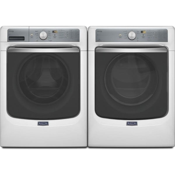 Maytag Maxima Series Front Load Washer and Gas Dryer Pair