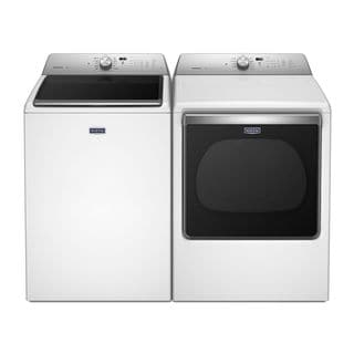 Maytag Bravos XL Series Washer and Electric Gas Pair