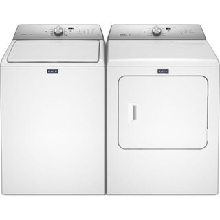 Maytag Bravos XL Series Top Load Washer and Electric Dryer Pair