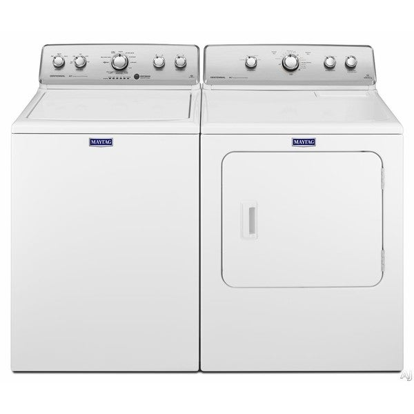 Maytag High-Efficiency Top Load Washer and Gas Dryer