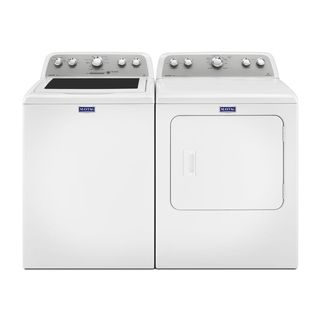 Maytag Heritage Series Top Load Washer and Gas Dryer Pair