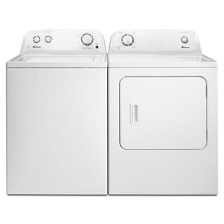 Amana Top Load Washer and Electric Dryer Pair