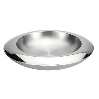 Visol Lucido Stainless Steel Fruit Bowl