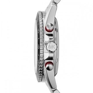 Michael Kors Men's Jet Master Automatic Multi-Function Skeletal Dial Stainless Steel Bracelet Watch MK9011
