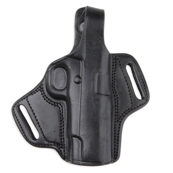 Molded Leather Large Black Holster