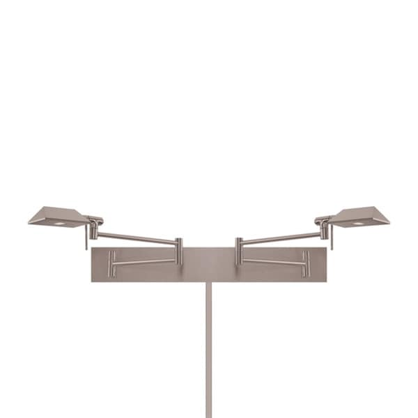 Cue LED Double Swing Arm