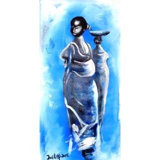 FRIENDSHIP PAINTING Canvas Art (Ghana)