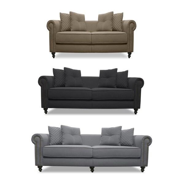 Taylor Lux Linen Sofa