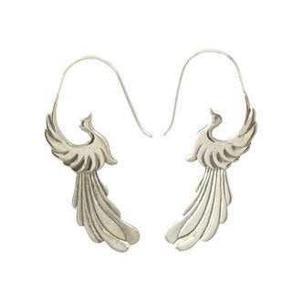 Bird of Paradise Earrings by Spirit Tribal Fusion (Bali)