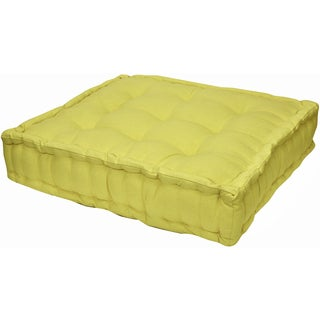 Floor Cushion Yellow