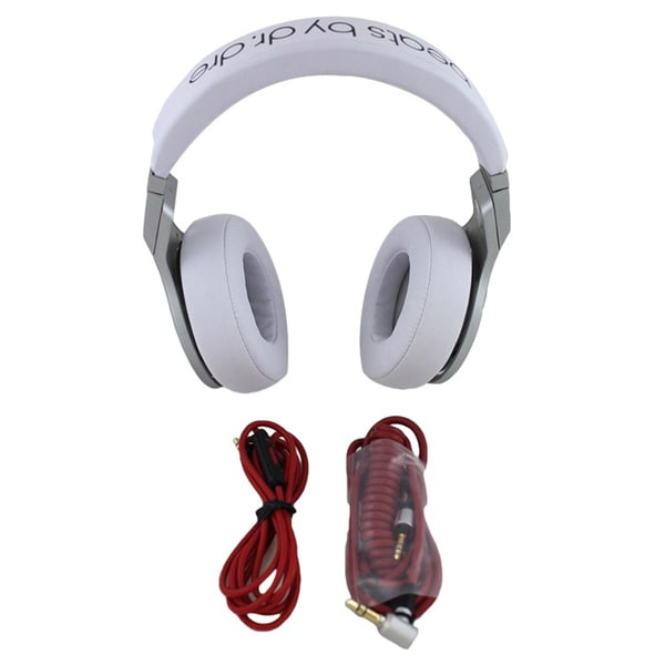 Beats by Dr. Dre Pro Headband Headphones - White