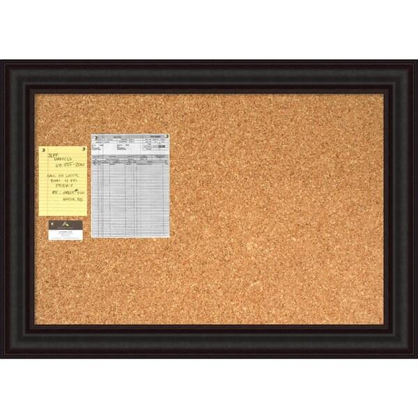 Java Cork Board - Large' Message Board 42 x 30-inch