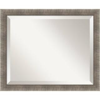 Silver Leaf Wall Mirror - Medium 23 x 19-inch
