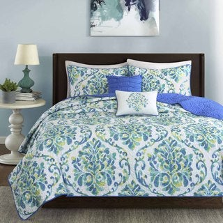 Intelligent Design Dina 5-piece Coverlet Set