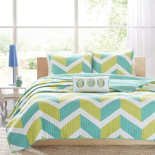 Mi Zone Jessie 4-piece Coverlet Set