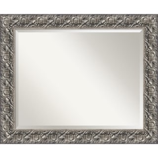 Silver Luxor Wall Mirror - Large 34 x 28-inch