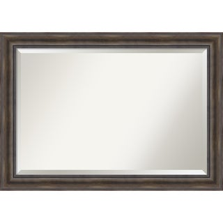 Rustic Pine Wall Mirror - Extra Large 42 x 30-inch
