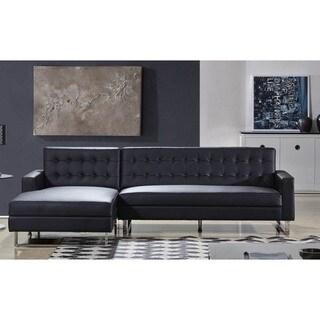 Polonne PU Leather Or Fabric Sectional Sofa