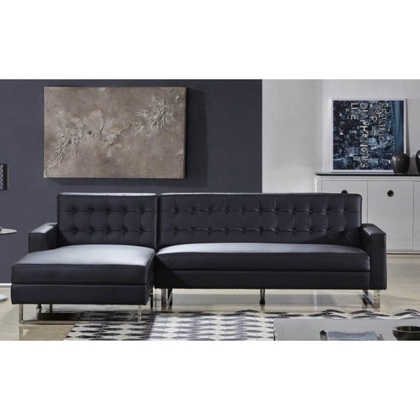 Polonne PU Leather Or Fabric Sectional Sofa