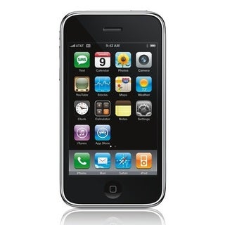 Apple iPhone 3G 8GB Factory Unlocked GSM Certified Referbished Cell Phone - Black