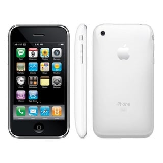 Apple iPhone 3G 16GB Factory Unlocked GSM Certified Referbished Cell Phone - White