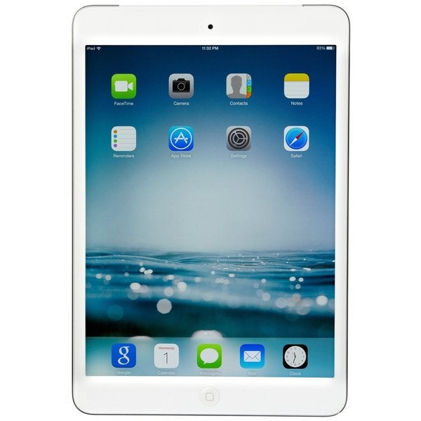 Apple iPad Mini Retina Display 32GB AT&T Unlocked GSM 4G LTE - White/Silver