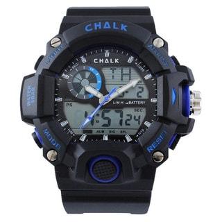 Chalk Velocity Ultramarine V Men's 52mm Blue Extreme Sports Watch