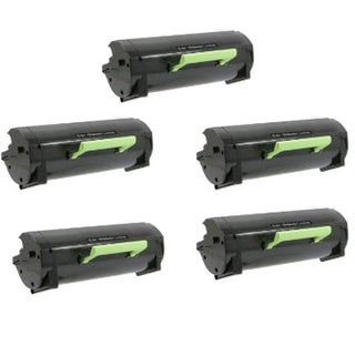 Dell 2360 HY Black Compatible Toner Cartridge For B2360 / B3460 / B3466 (Pack of 5)