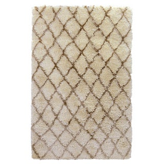 Kosas Home Gem Diamond Shag Rug 8X10