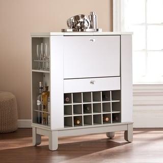 Harper Blvd Martindell Mirrored Fold-Out Wine/ Bar Cabinet