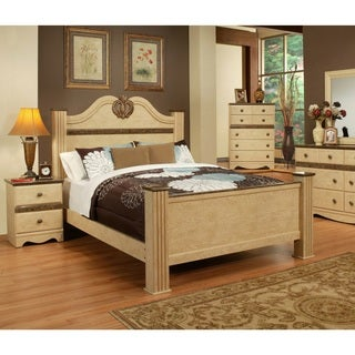 Sandberg Furniture Casa Blanca Two Nightstand Bedroom Set