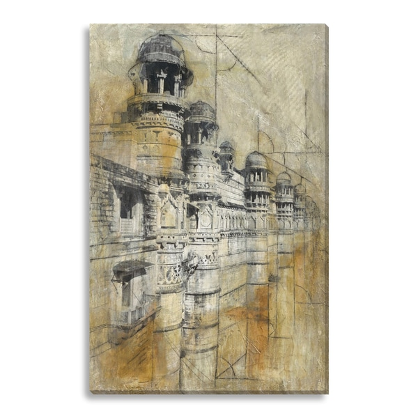 Garcia, Justin 'The Gwalior Fort' Gallery Wrapped Canvas