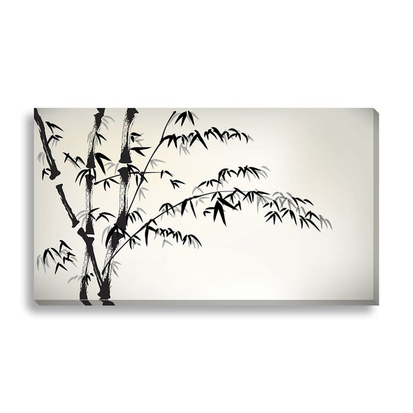 FTOLIA 'ink painted bamboo' Canvas Gallery Wrap