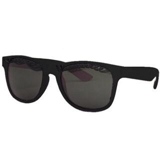 Unisex Eyelash Sunglasses with Black Frames