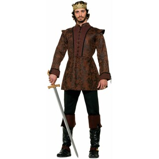 Medieval Fantasy King's Coat Costume
