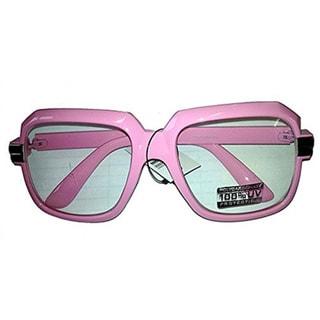 Oversized Pink Hip Hop Glasses