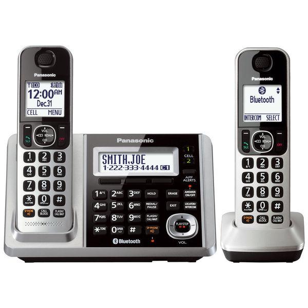 Panasonic KX-TGF372S DECT 6.0 2-handset Landline Telephone