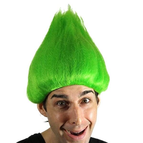 Adult Tall Green Wig