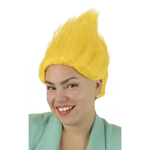 Adult Tall Yellow Wig