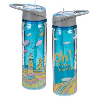 Dr. Seuss Oh The Places You'll Go Tritan Acrylic 18-ounce Water Bottle
