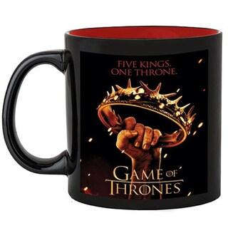 Game of Thrones 'Five Kings One Throne' Crown 20-ounce Ceramic Coffee Mug