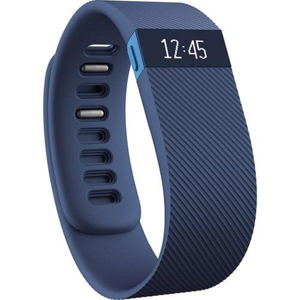 Fitbit Charge Activity + Sleep Wristband (Large, Blue)