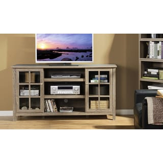 Provence 60-inch Wide Media Stand in Reclaimed Wood