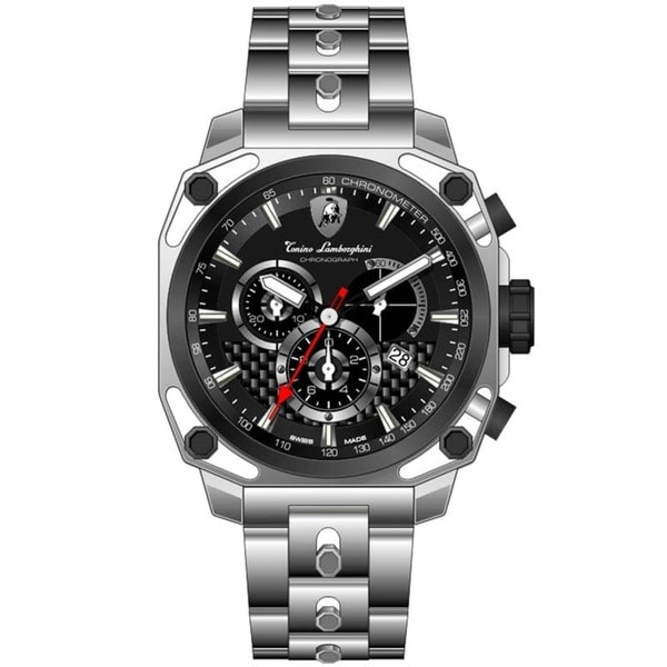 Tonino Lamborghini Men's 4 Screws Chronograph Watch
